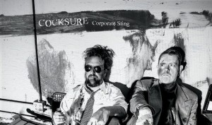 Cocksure sees'Corporate_Sting' album released on vinyl and CD