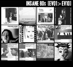 V/A Insane 80s [EV01>EV10] (CD Album – EE Tapes)