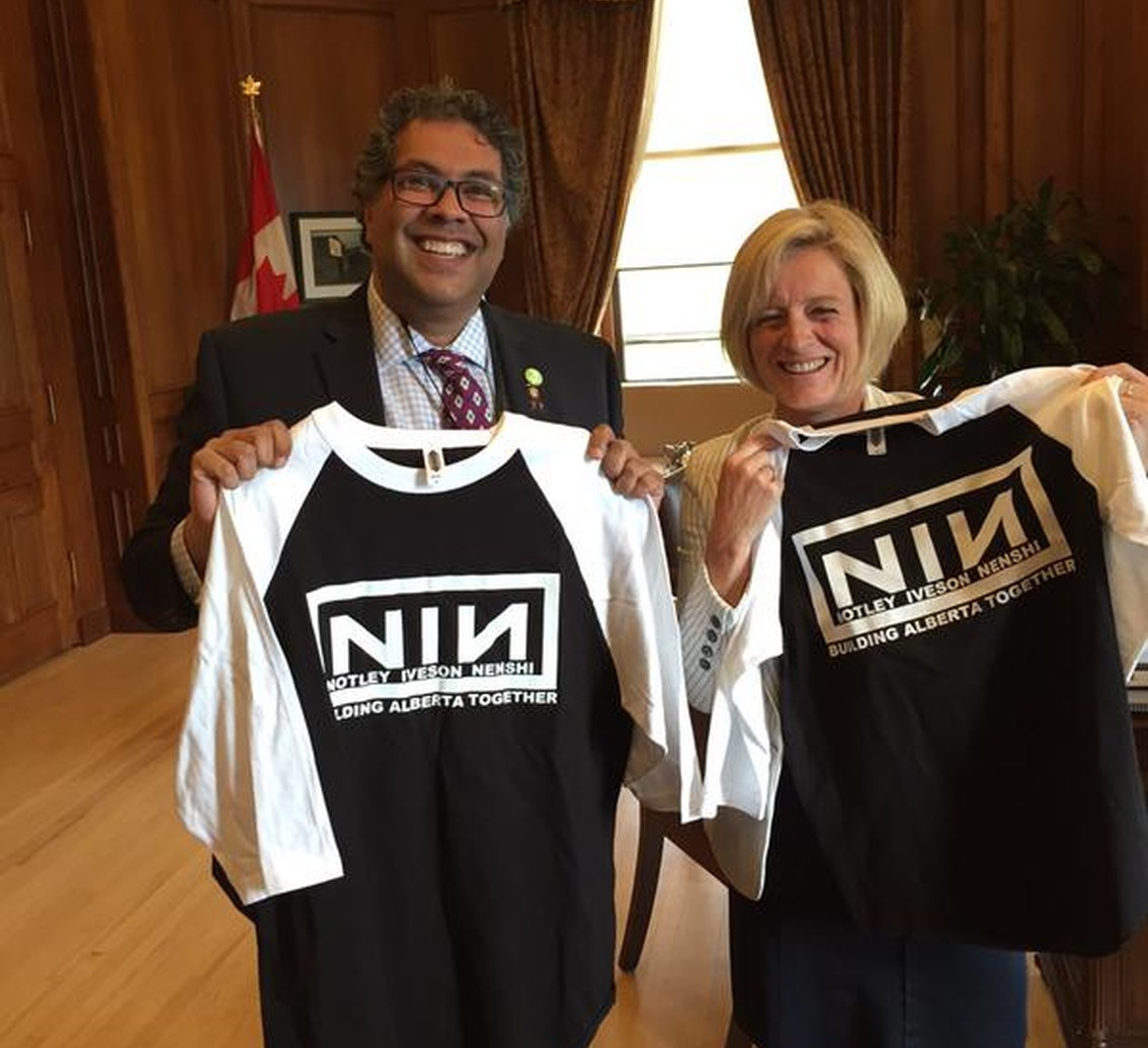 Nine Inch Nails logo (ab)used by Canadian politicians - the fans don't buy it