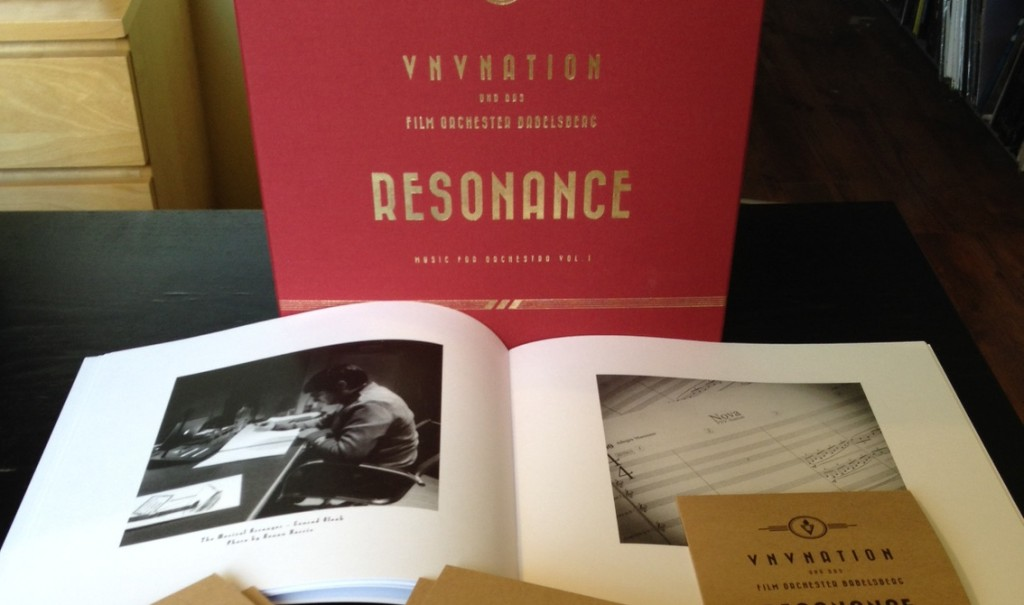 60 more VNV Nation 6 x vinyl/CD'Resonance' boxsets available - order now