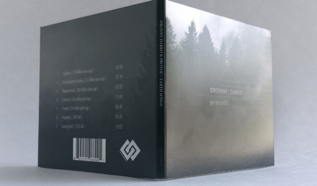 Dronny Darko and protoU release joined 'Earth Songs' album by end July - pre-orders up now on Cryo Chamber
