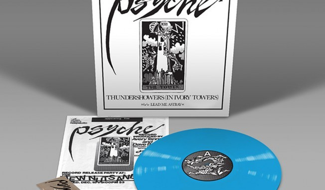 Psyche gets 30th anniversary reissue of first 12 inch release 'Thundershowers (In Ivory Towers)' - 2 versions available