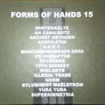 V/A Forms Of Hands 15