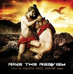 CD and vinyl in one format? Yup, that's what happened to'Is Apollo Still Alive?', the new single from Rave The Reqviem