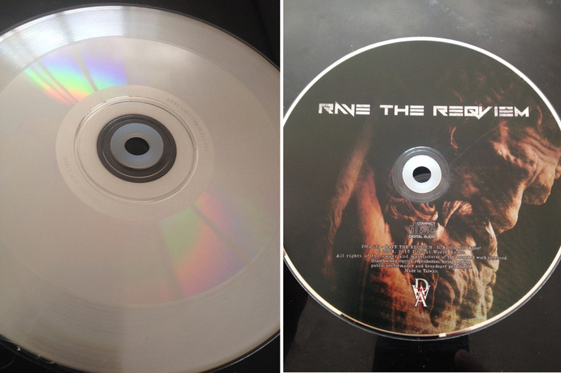 CD and vinyl in one format? Yup, that's what happened to 'Is Apollo Still Alive?', the new single from Rave The Reqviem