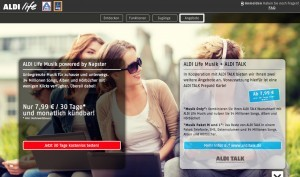 Aldi Life Musik, Aldi's own streaming platform powered by Napster, launches in Germany, soon in the rest of Europe?