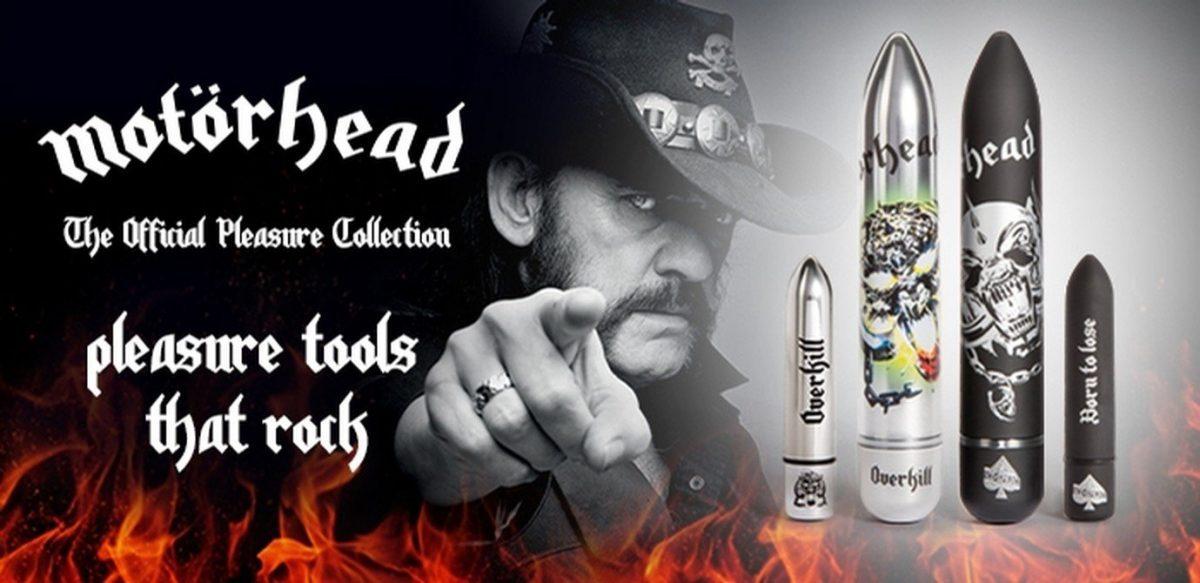Motörhead sex toys line available now... bzzzzzzzzzz