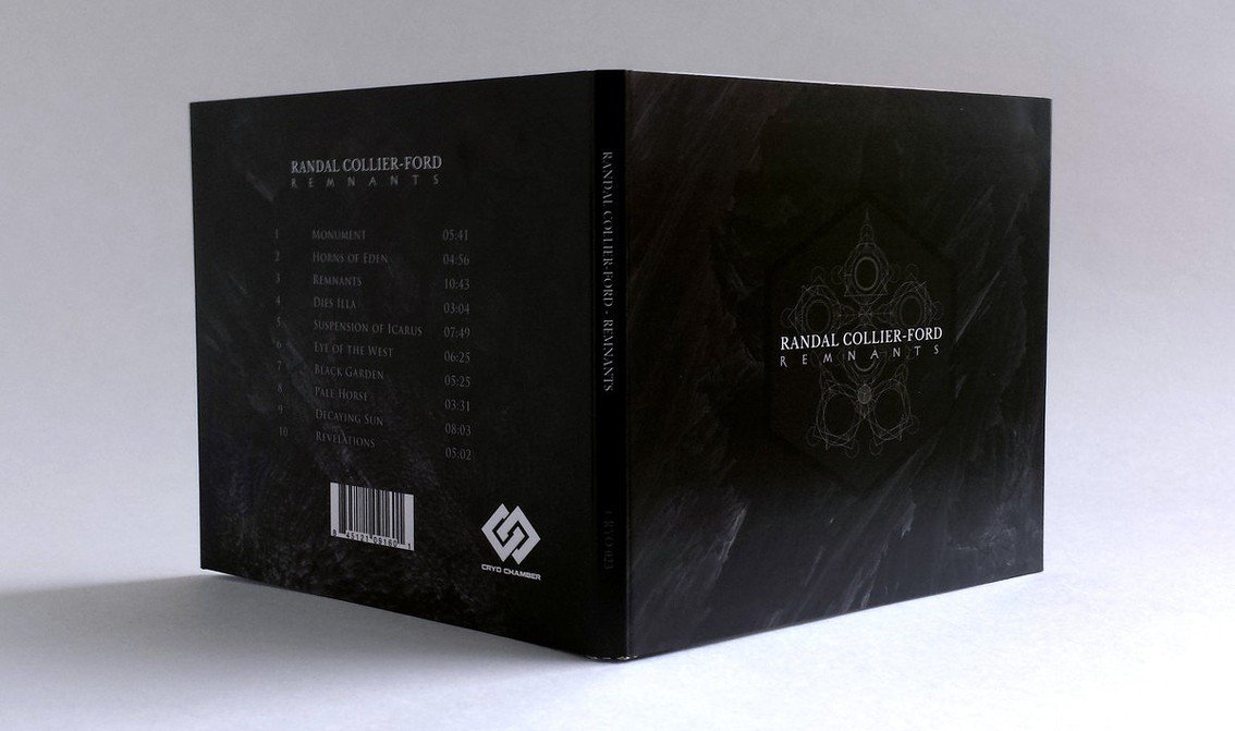 2nd album Randal Collier-Ford,'Remnants', out now on Cryo Chamber