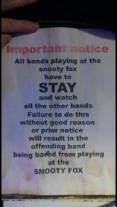 Snooty-Fox-Message-To-Bands