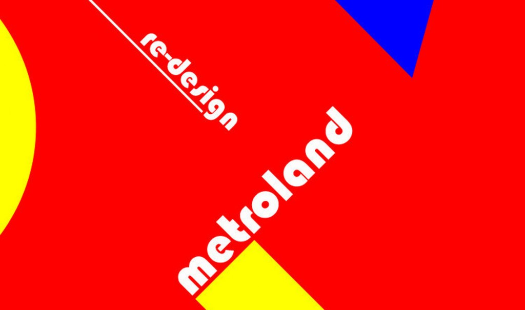 Metroland close triadic series with double download EP:'Re-design' &'Re-Design (Spacious Edition)'