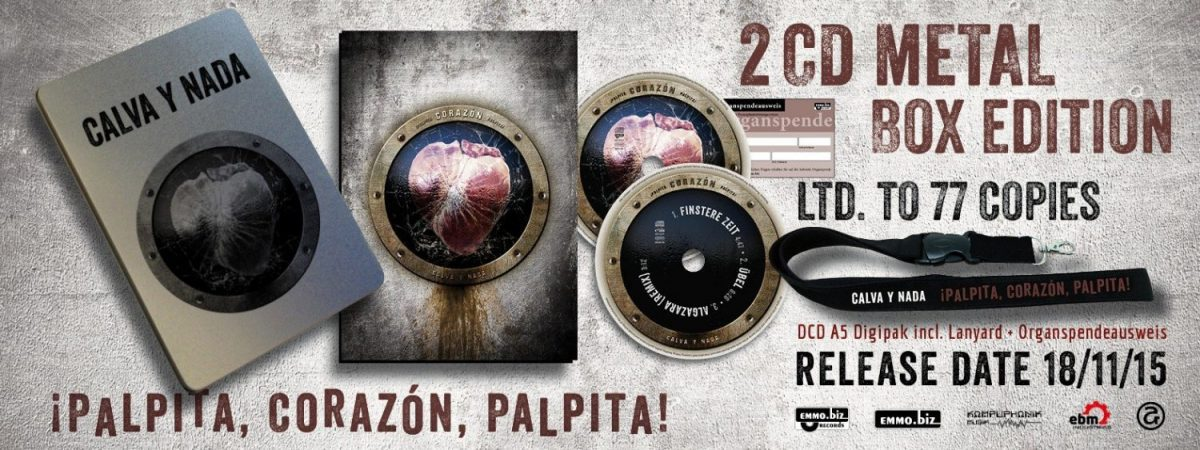 Calva Y Nada sees'¡Palpita, Corazón, Palpita!' released in no less than in 3 different versions!