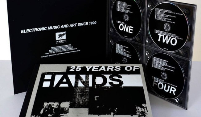 '25 Years of Hands' boxed in 4CDset