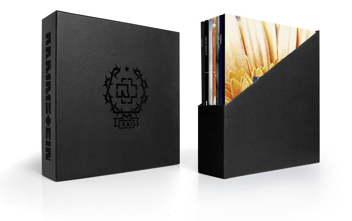 Massive Rammstein vinyl boxset'XXI' holds 14 LPs - order now, limited number of copies!
