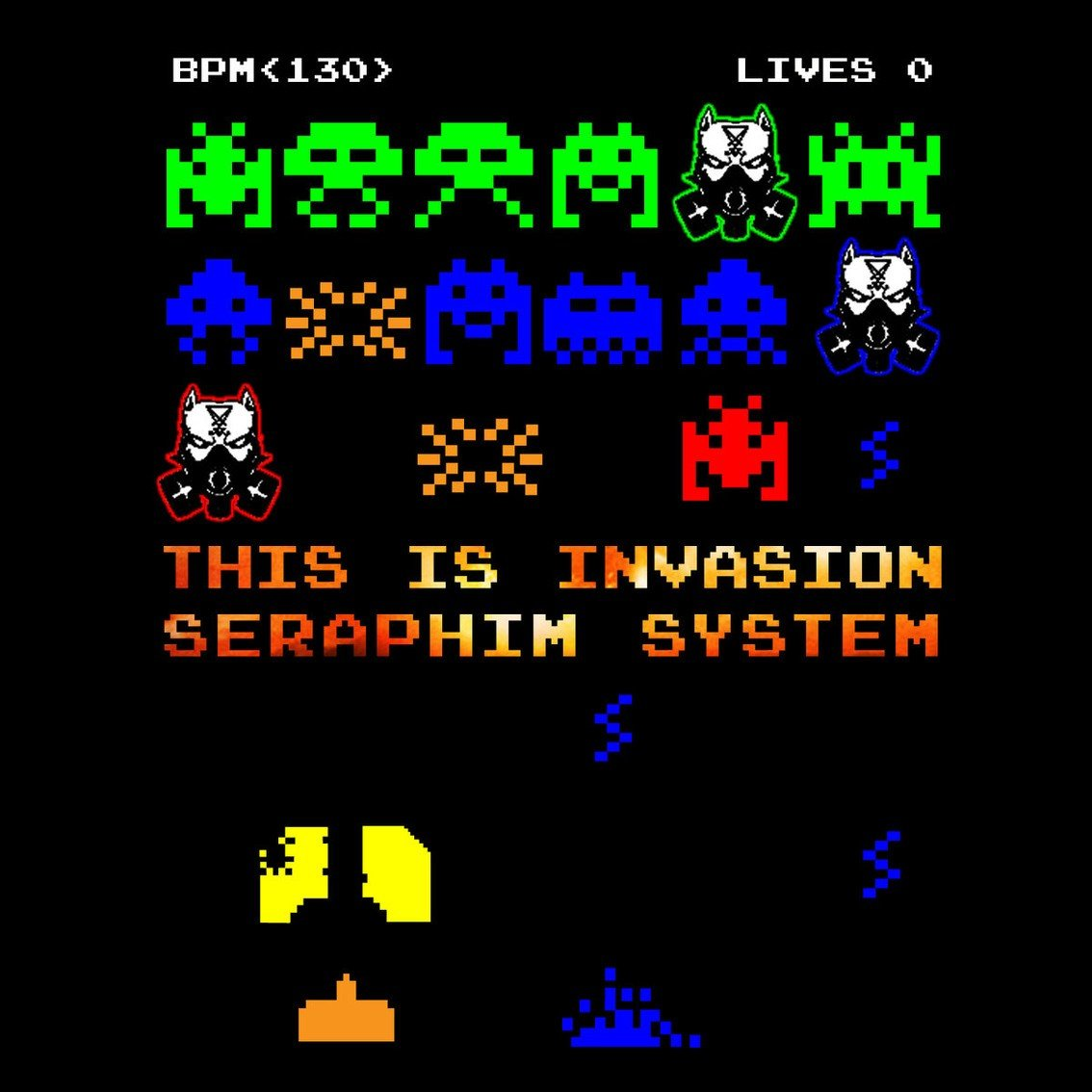 Seraphim System just released new 4-track single 'This Is Invasion' including Noisuf-X and Iszoloscope remixes