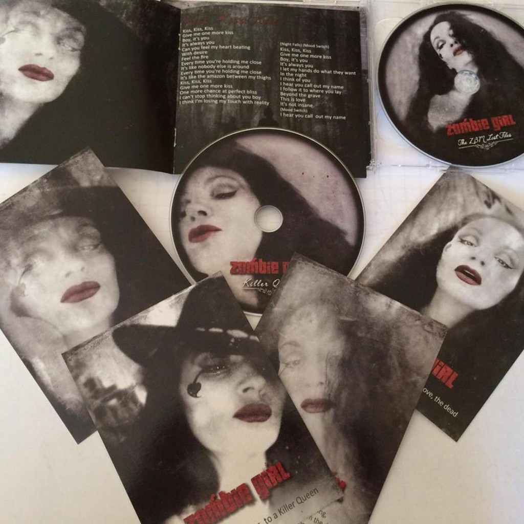 Zombie Girl comeback album'Killer Queen' out now as CD / 2CD set / download