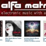 Get your 50% reduction code for all releases on the Alfa Matrix Bandcamp page!
