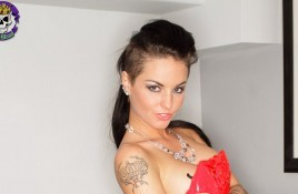 Christy Mack goes code red!