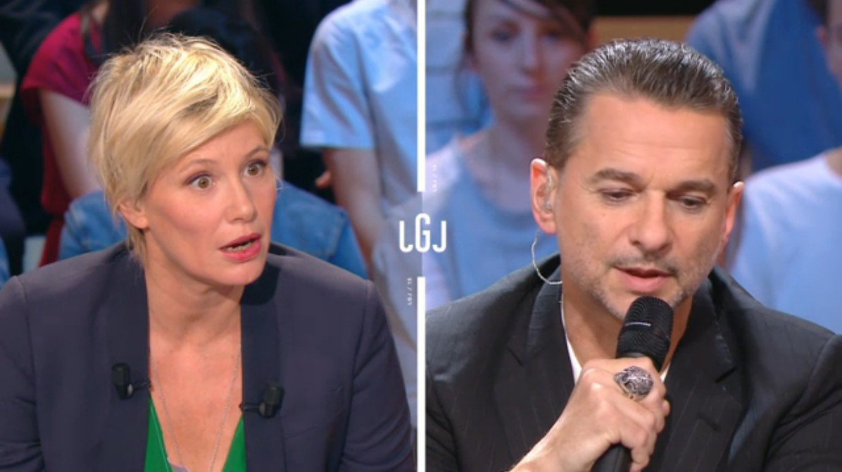 Dave Gahan announces ends of Depeche Mode on French TV channel Canal+