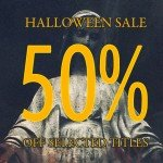 Cryo Chamber halloween sale - 50% off selected digital titles (of a dark and ominous character)
