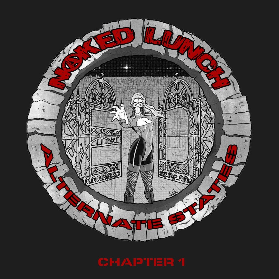 New EP for cult act Naked Lunch, 'Alternate States : chapter 1' - out now featuring re-recording 'Some Bizzare Album' track 'La Femme' - Depeche Mode fans will love this one!