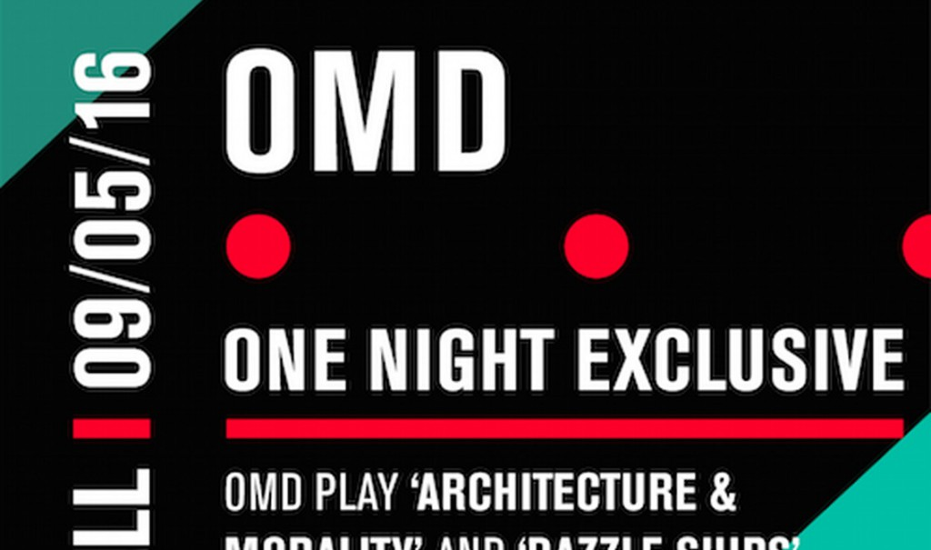 OMD to play classic albums'Dazzle Ships' and'Architecture & Morality' in full at the Royal Albert Hall in London in May