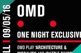 OMD to play classic albums 'Dazzle Ships' and 'Architecture & Morality' in full at the Royal Albert Hall in London in May