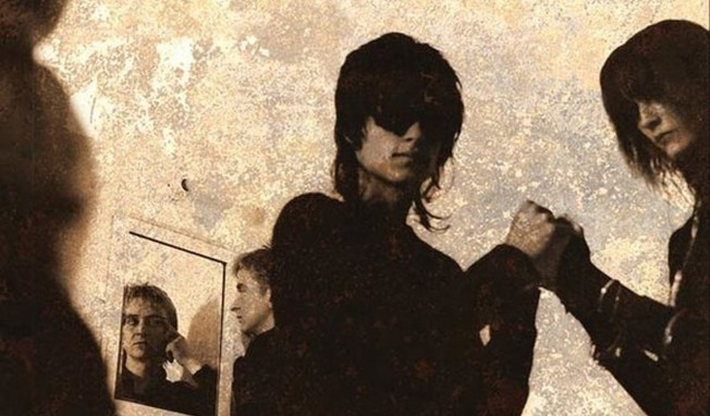 80s New Wave/Goth Rock band The Veil prep best of 'History' album for early December