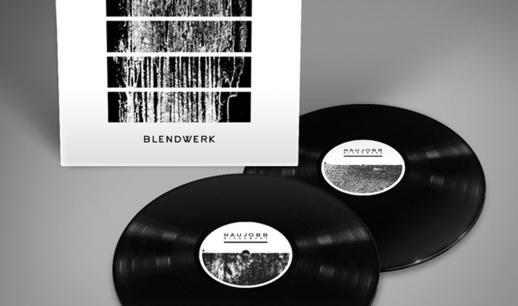 Double black vinyl for new Haujobb album'Blendwerk' including 4 extra bonus tracks not available on CD version