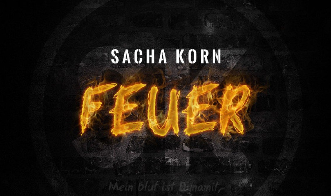Sacha Korn releases first video from 'Feuer' album - pre-orders available with immediate download of 1 track