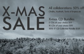 Cryo Chamber launches X-mas sales and CD bundles