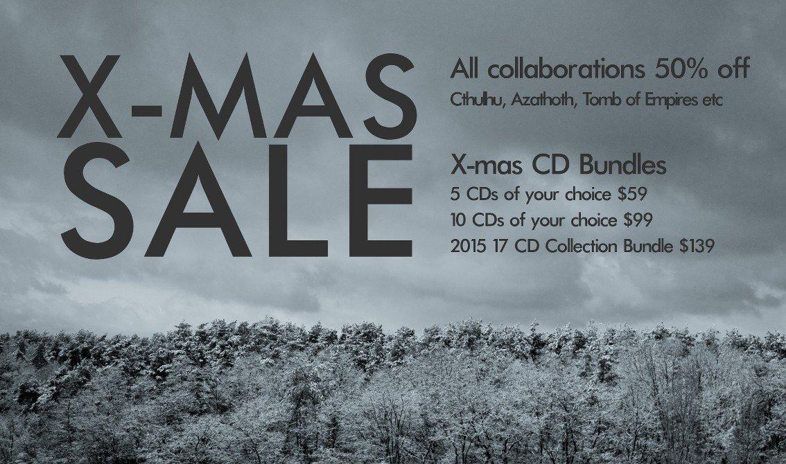 Cryo Chamber launches X-mas sales and CD bundles