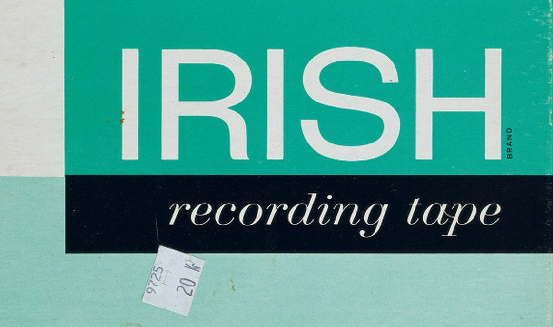 Agent Side Grinder sees deleted'Irish Recording Tape' album reissued on vinyl