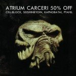 Cryo Chamber is holding an Atrium Carceri sale, 50% off selected downloads
