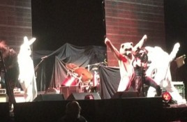 Tool dresses up as bunnies and invade 3TEETH live set in New Orleans - life footage pops up online
