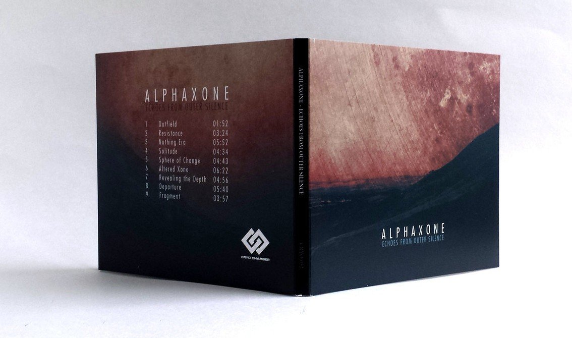 Alphaxone to release 4th album for Cryo Chamber - you can listen now to 2 tracks from'Echoes from outer Silence'