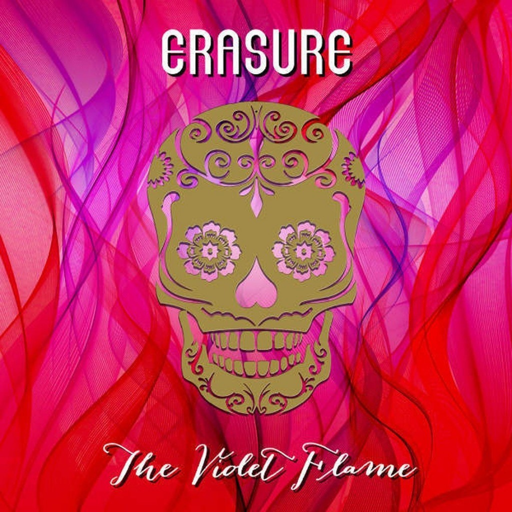 Erasure gets a special Greek 2CD edition of their'The violet flame' album with bonus tracks - 500 copies only, order now