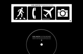 2 new Karl Bartos (ex-Kraftwerk) 7inch vinyls hit the shops: 'I'm the message' + '15 minutes of fame'