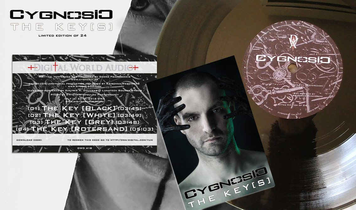 Cygnosic releases new'The Key' single as download and on a 10'' vinyl