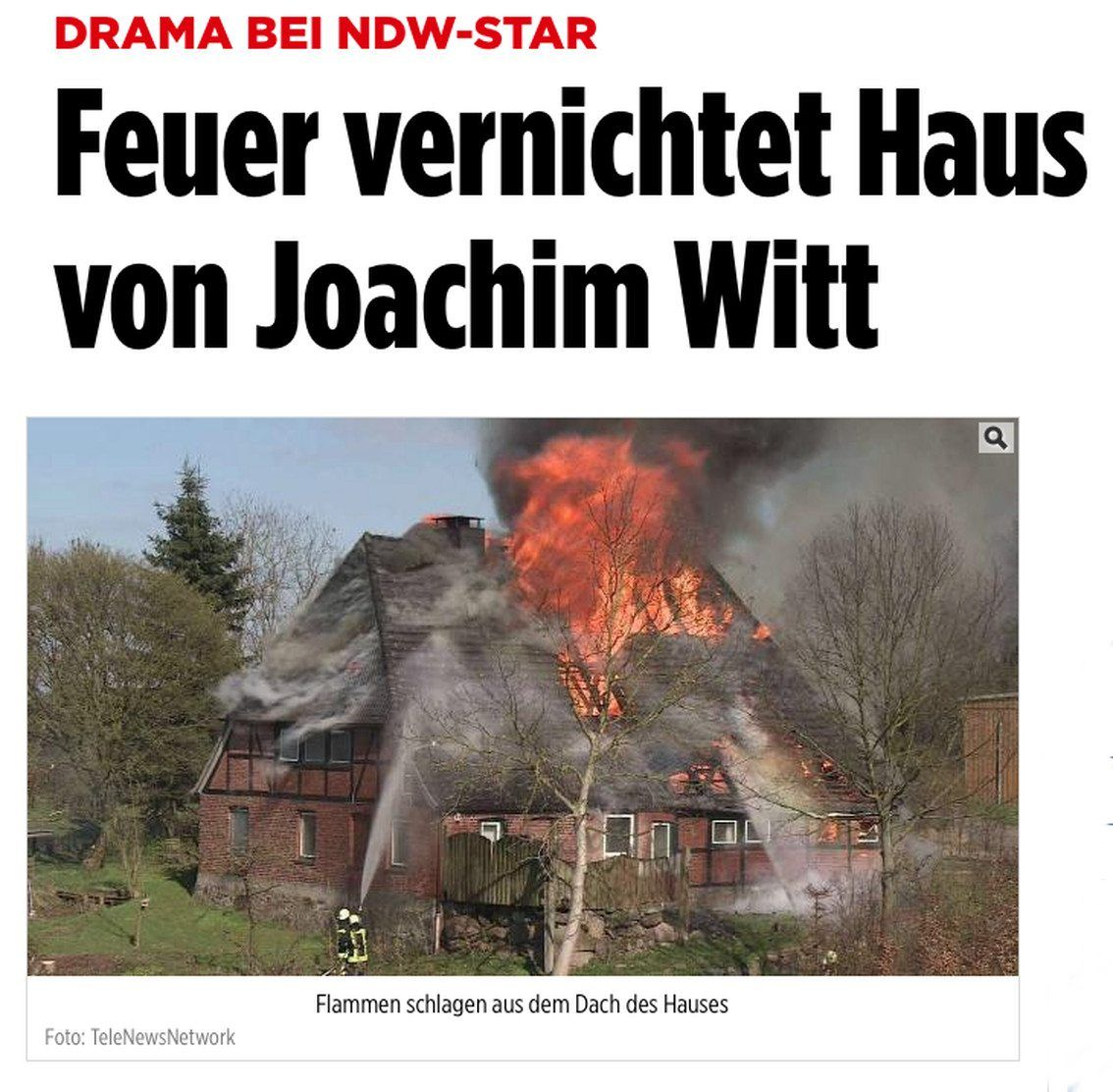 joachim witt s historical house burns to the ground side. Black Bedroom Furniture Sets. Home Design Ideas