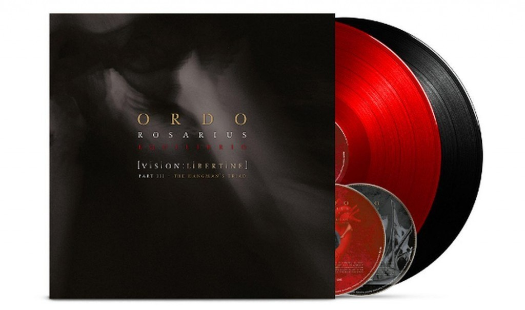 3 formats for Ordo Rosarius Equilibrio's'Vision: Libertine - The Hangman's Triad' release including vinyl