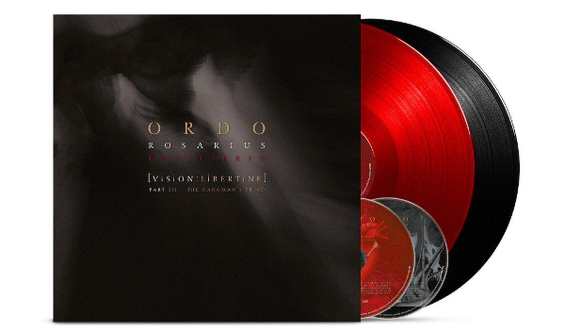 3 formats for Ordo Rosarius Equilibrio's 'Vision: Libertine - The Hangman's Triad' release including vinyl