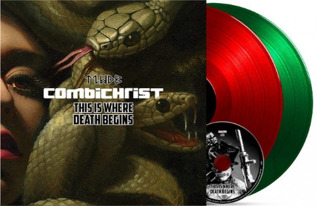 Combichrist to release'This Is Where Death Begins' in various editions including a 2LP+CD set - pre-orders available here