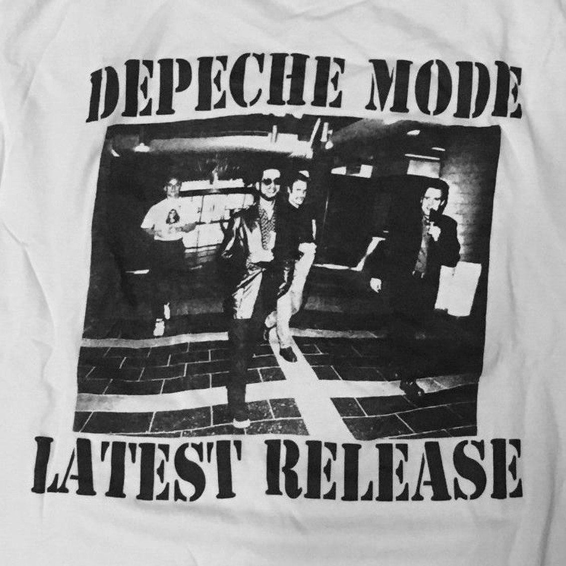 Did you know this? Special extremely limited Depeche Mode T-shirt to celebrate Martin Gore's release from custody back in 1993