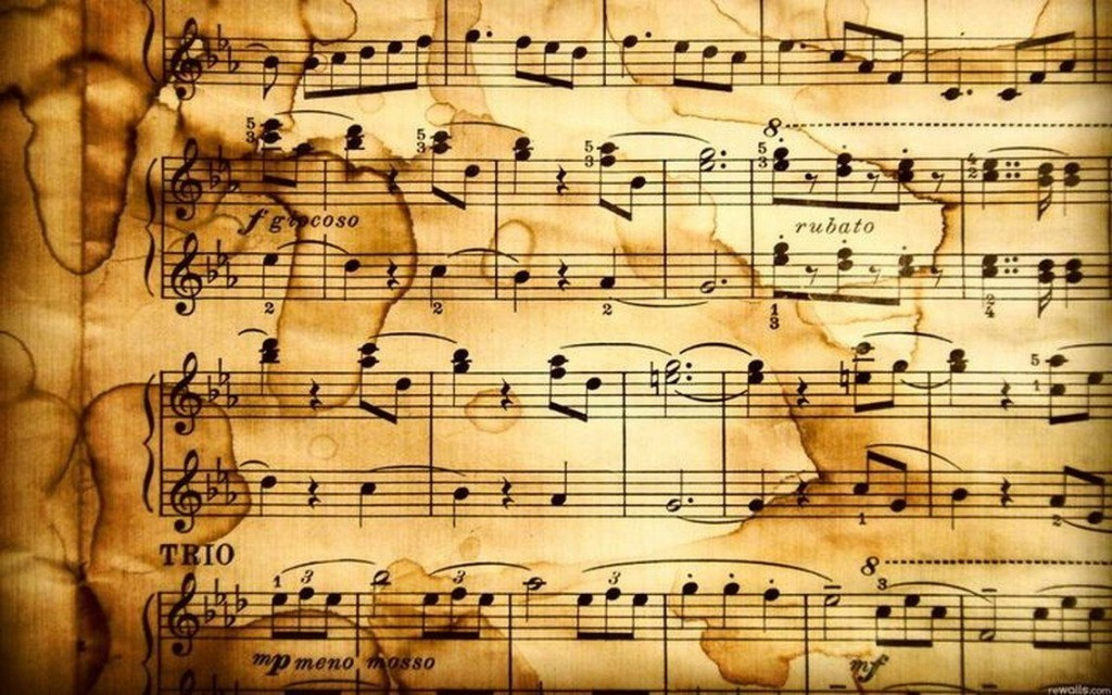 Why using music sheets?