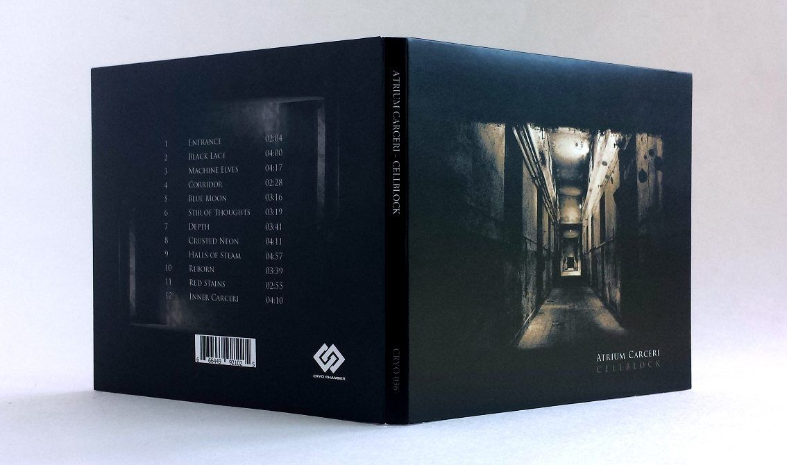 Atrium Carceri's'Cellblock' album (originally released in 2003) finally available again on CD