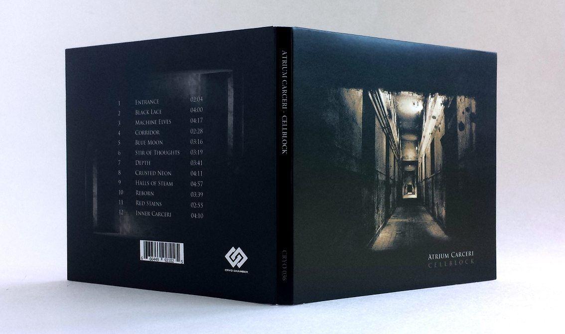 Atrium Carceri's 'Cellblock' album (originally released in 2003) finally available again on CD