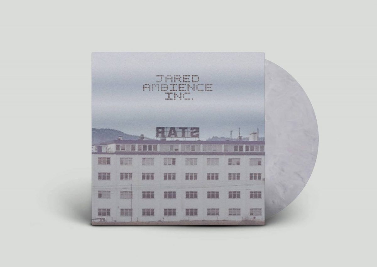 Jared Ambience Inc. - RATS (cover + marbled vinyl=