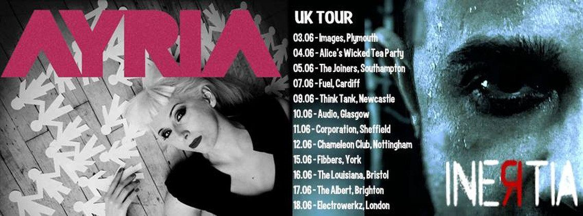 Ayria and Inertia have started their joint UK tour!