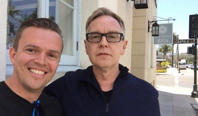 Depeche Mode in the studio in Santa Barbara recording a new album - here's the proof