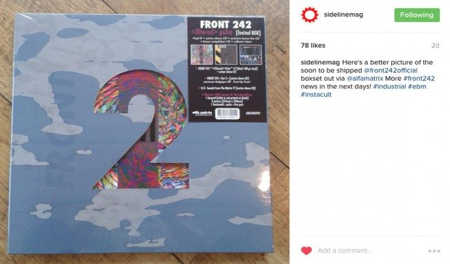 First details leak from upcoming Front 242 boxset